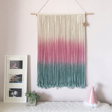 Load image into Gallery viewer, Boho Macrame Wall Art