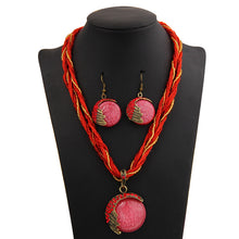 Load image into Gallery viewer, Handmade Bohemian Natural Stone Jewelry Sets
