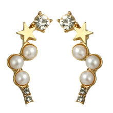 Load image into Gallery viewer, Crystal Star Dipper Earrings