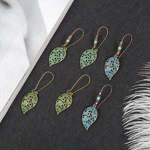 Leaves Drop Earring