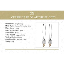 Load image into Gallery viewer, 925 Sterling Silver Bud Earrings