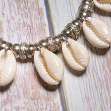 Load image into Gallery viewer, Natural Cowrie Boho Anklets Set