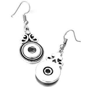 Silver Button Jewelry Sets