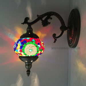 Mossaic Boho Wall Lamp