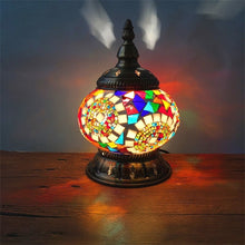 Load image into Gallery viewer, Boho Mosaic Table Lamp