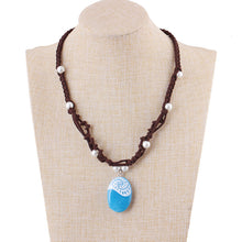 Load image into Gallery viewer, Mermaid Stone Necklace