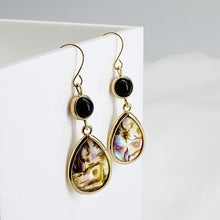 Load image into Gallery viewer, Bohemian Rainbow Dangle Earrings