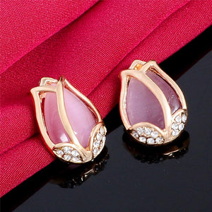 Pink Tulip Jewelry Sets