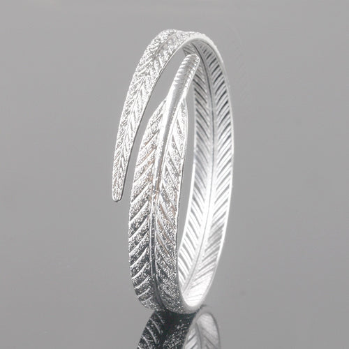 Lucky Feather Bangle