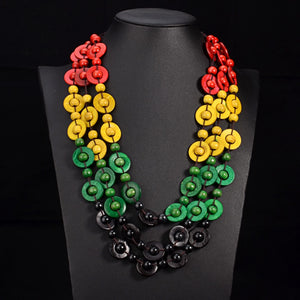 Bohemia Multi Layer Beads Necklace