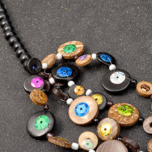 Load image into Gallery viewer, Bohemian Dark Woods Necklace