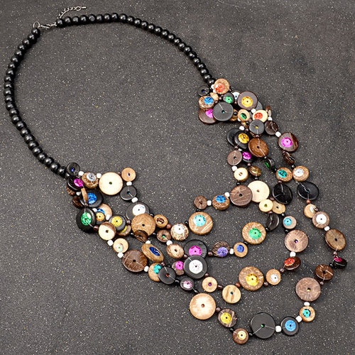 Bohemian Dark Woods Necklace