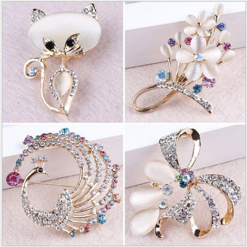 Elegant Brooch Collection