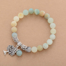 Load image into Gallery viewer, Amazonite Tree of Life Bracelet