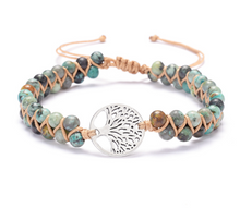 Load image into Gallery viewer, Handmade Tree of Life Bracelets