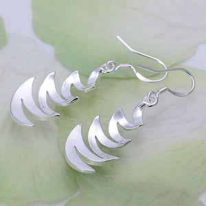 Mesmeric Zig Zag Earrings