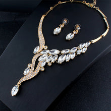 Load image into Gallery viewer, Glamour Necklace and Earring Set