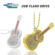 Load image into Gallery viewer, Diamond guitar Usb Flash Drive