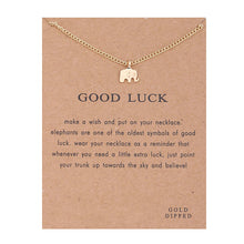 Load image into Gallery viewer, Good Luck Elephant Necklace