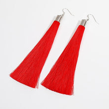 Load image into Gallery viewer, Bohemia Long Tassel Earrings