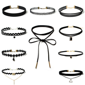 1 Full Set of Choker Necklaces - Ultimate bargain
