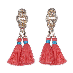 Tassel Boho Dangle Earrings