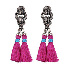 Load image into Gallery viewer, Tassel Boho Dangle Earrings
