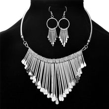 Load image into Gallery viewer, Boho Tassels Pendant Jewelry Sets