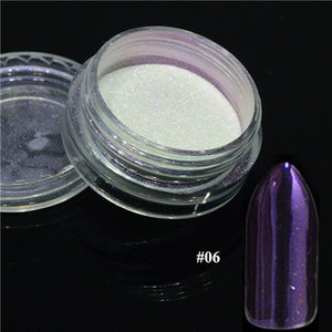 Silver Mirror Magic Pigment Powder