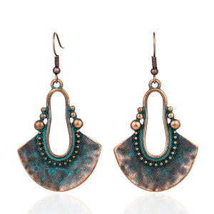 Egyptian Style Drop Earrings