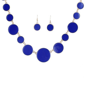 Multicolor Circles Shape Jewelry Sets