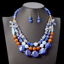 Load image into Gallery viewer, Waterfall Beads Jewelry Sets