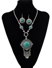 Load image into Gallery viewer, Polished Bead Stone Jewelry Set
