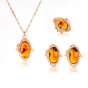 African Crystal Jewelry Sets