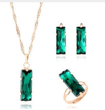 Load image into Gallery viewer, African Crystal Jewelry Sets
