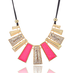 Royal Tribal Statement Necklace