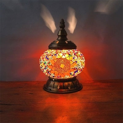 Boho Mosaic Table Lamp