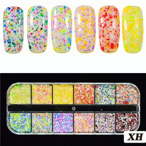 Ultrathin Sequins Nail Art