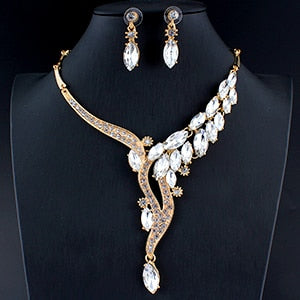 Glamour Necklace and Earring Set