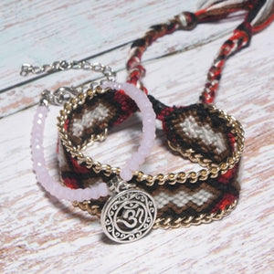 Rune Weave Anklets