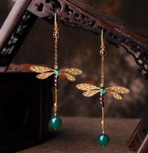 Load image into Gallery viewer, Dragonfly Earrings