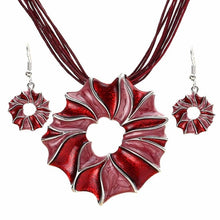 Load image into Gallery viewer, Multilayer Leather Boho Jewelry Set