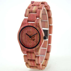 Handmade Colorful Bamboo Watch
