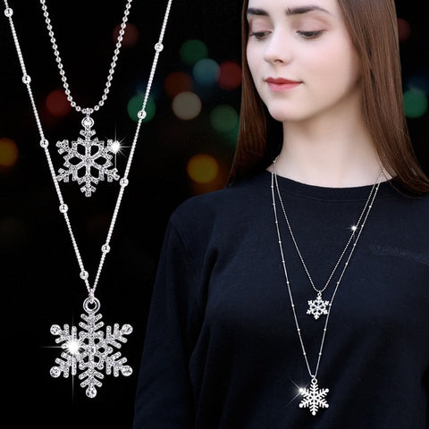 Vintage Pendant Necklace Range, Snow