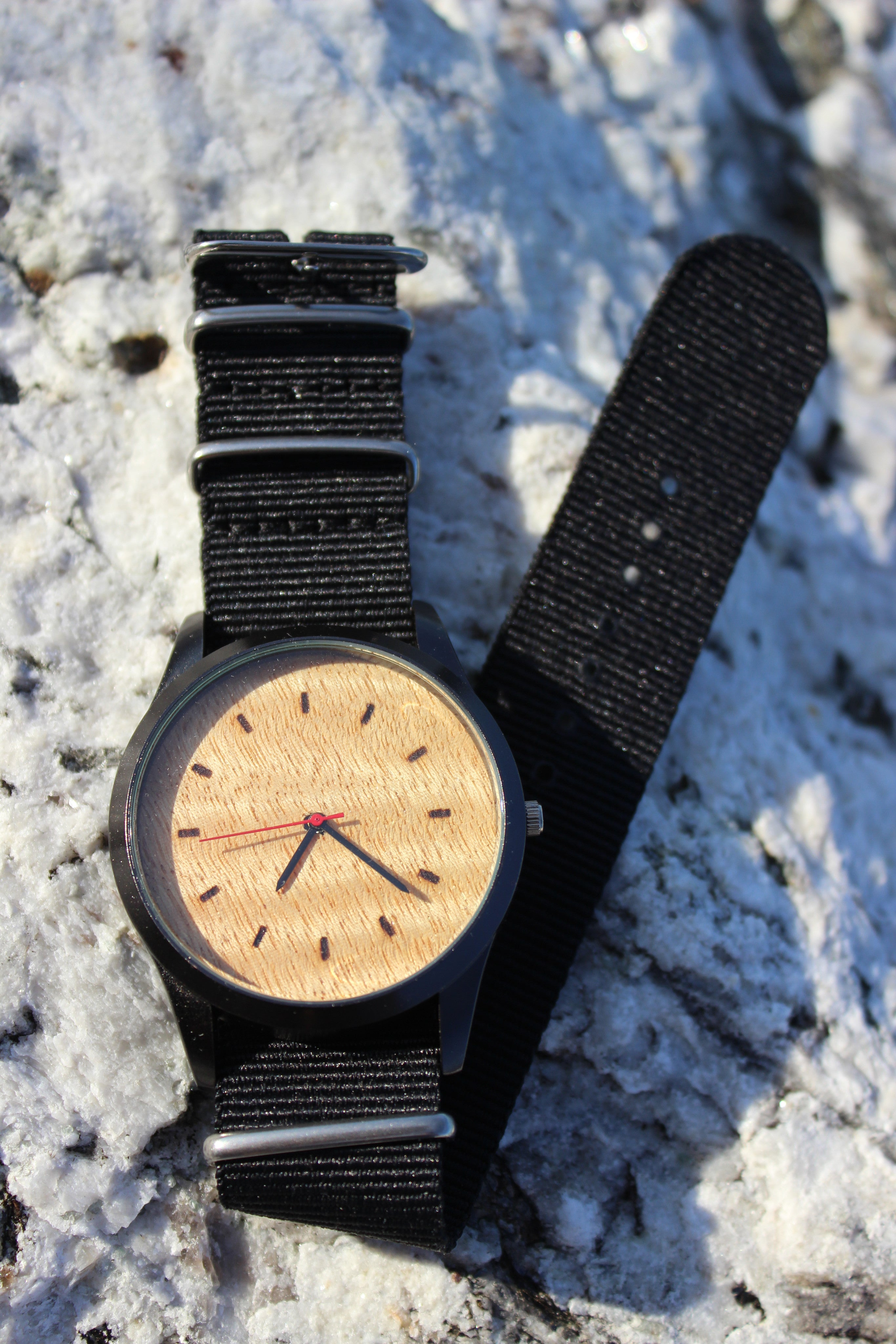 Maine Made Wood Watch