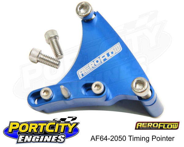 Aeroflow AF64-2050 Chev small block timing pointer