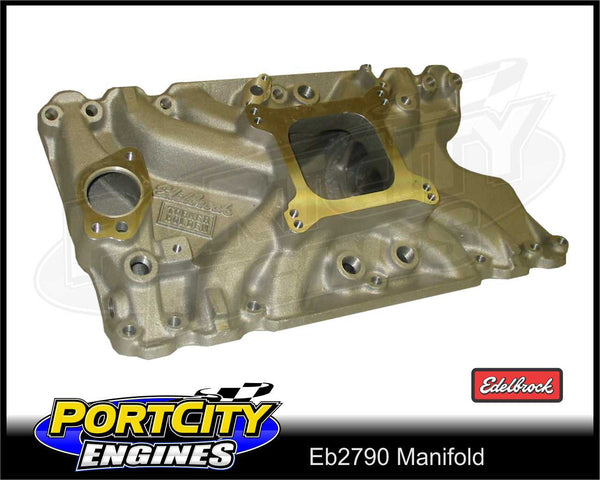 Edelbrock Torker manifold for Holden V8 253 308 355 Kingswood Commodore ED2790