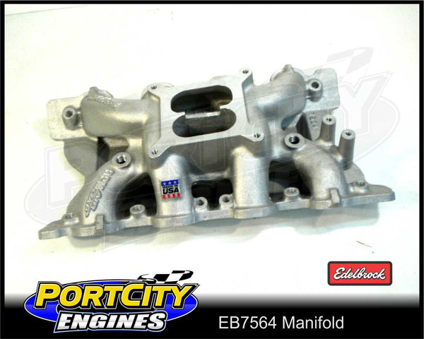 Edelbrock Performer RPM Air-Gap manifold for Ford V8 Cleveland 302 351 ED7564