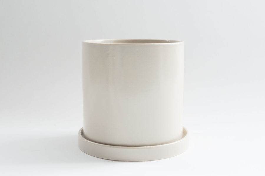 Cream Pot with Tray - Pot / Planter