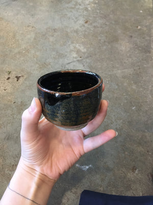 Black studio pottery